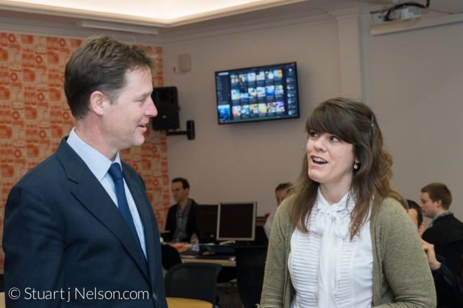 Meeting Nick Clegg