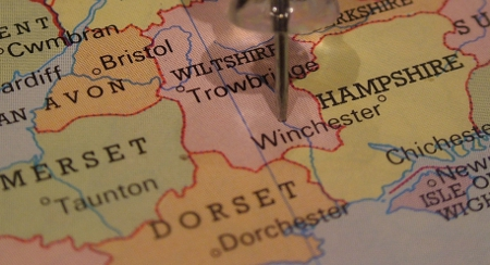 Map Wiltshire Holiday