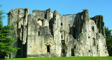 Wardour Castle in Wiltshire