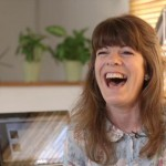Alison - being filmed 3