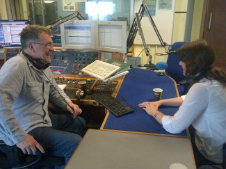 Alison Howell speaking on BBC Radio Wiltshire