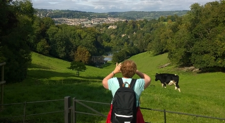Bath City and Country - View towards Bath