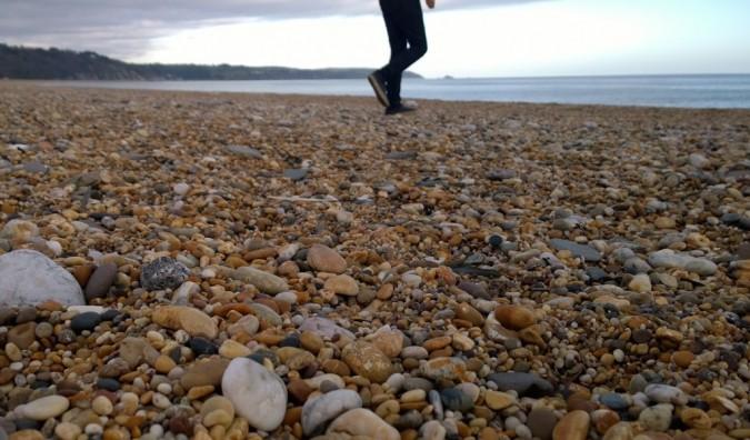 Pebble Beach in Devon