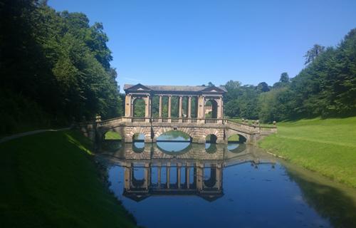Palladian Bridge at Priors Park, Bath
