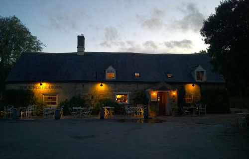 Welcoming country pub