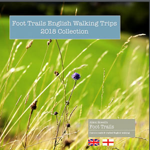 Foot Trails UK Walking Trips brochure 2018