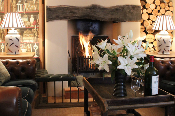 An example of an English inn you might stay the night at