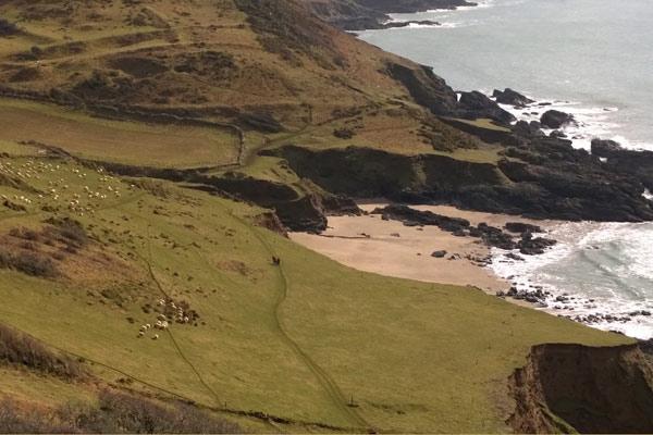 Stunning views along Devon's coast