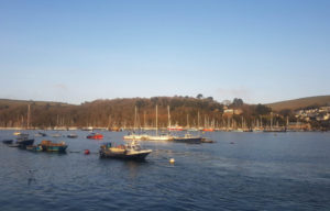Boats on the River Dart
