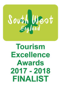 South West England Tourism Excellence Awards 2017-18 Finalist