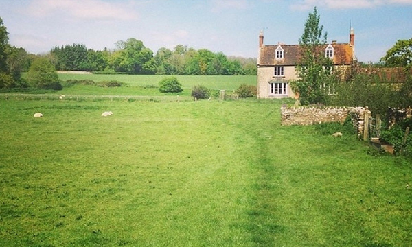 Classic countryside view