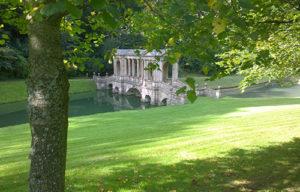 View of Palladian Bridge, Priors Park, Bath - Foot Trails walking tour