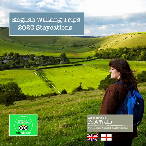 Foot Trails Staycation brochure 2020